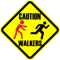 Caution Walkers